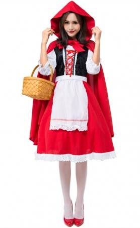 Halloween Little Red Riding Hood Costume