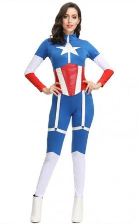 Marvel Movie Captain America Superman Costume