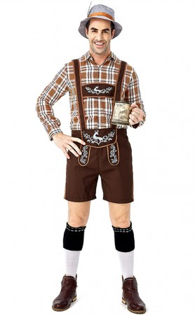 German Beer Men Oktoberfest Man Adult Halloween Costumes