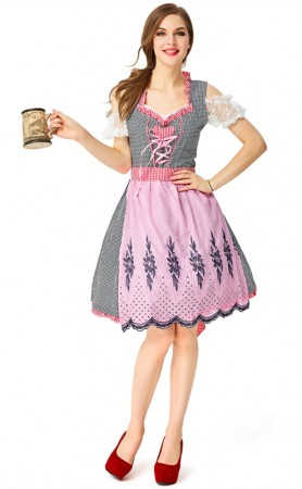 Traditional Bavarian National German Oktoberfest Costume