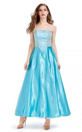 The Blue Dress Of The Halloween Princess