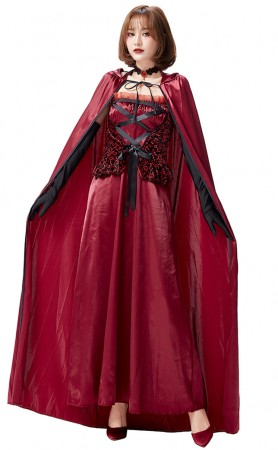 Halloween Kindred Party Gown Castle Queen
