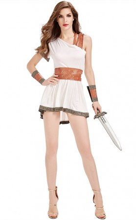 Halloween Costume Of Sparta Ancient Roman Goddess Of War