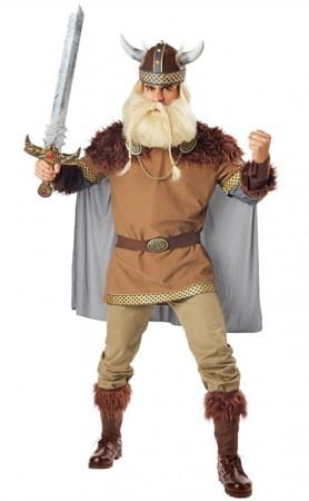 Halloween Man Valiant Viking Fancy Dress Costume