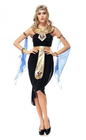 Woman Halloween Egyptian Goddess Costume