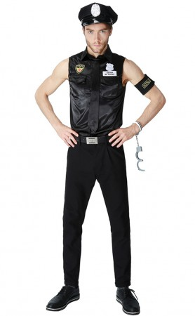 Mens Realistic Police Officer Uniform