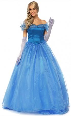Halloween Cosplay Cinderella Princess Party Costume