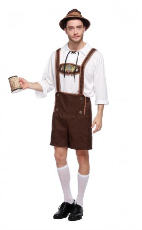 German Beer Men Oktoberfest Man Adult Halloween Costumes