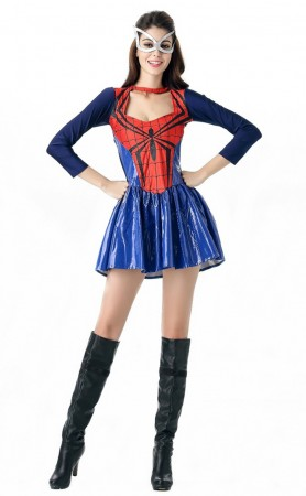 Halloween Spiderman Female Cosplay Costume