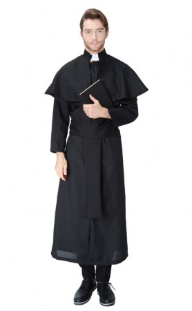 Easter Priest Maria Men's Priest Costume