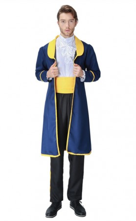 Halloween Beauty And The Beast Prince Uniform