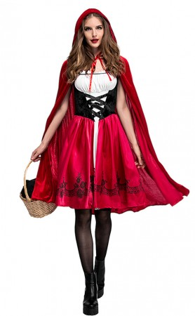 Halloween Classic Red Riding Hood Adult Costumes