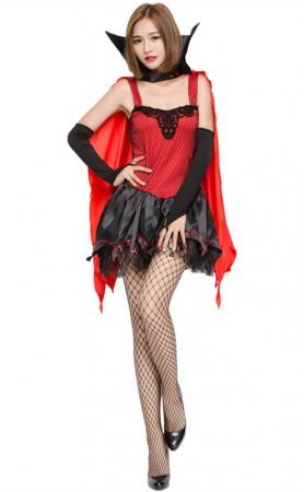 Halloween Vampire Bat Witch Costume