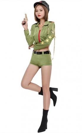 Halloween Sexy Highway Hottie Cop Costume