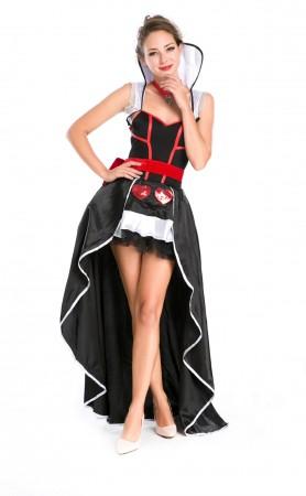 Halloween Sexy Enchanting Queen Of Hearts Costume