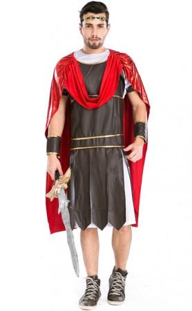 Halloween Man Spartan Warrior Costume