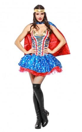 Halloween Marvel Movie Captain America Supergirl