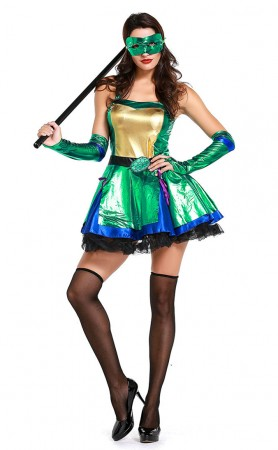 Halloween Sexy Teenage Mutant Ninja Turtle Costumes