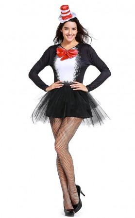 Halloween Mischievous Cheshire Cat Costume