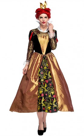Halloween Malicious Queen Of Hearts Costumes
