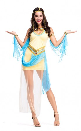 Halloween Egyptian Pharaoh Queen Princess Cosplay Costumes