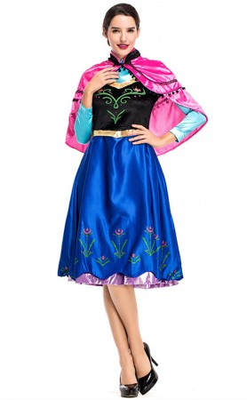 Halloween Fairy Tale Ice Princess Cosplay Costume