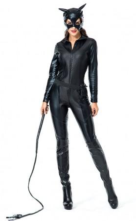 Halloween Sexy Bad Cat Girl Cosplay Costume