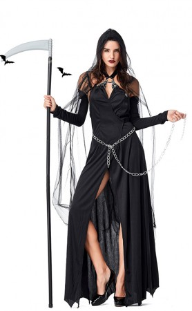 Halloween Black Demon Witch Costumes