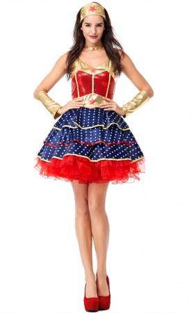 Halloween Hero Character Superwoman Cosplay