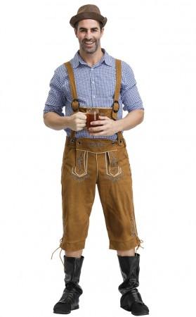 Halloween Deluxe Bavarian Guy Adult Costume