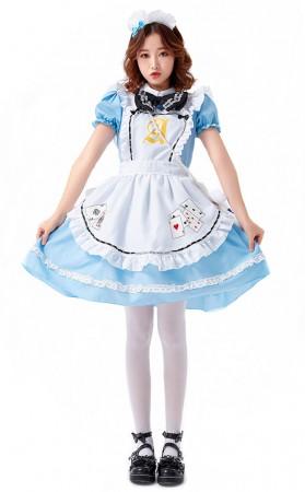 Halloween Fantasy Adventure Lolita Maid Costume