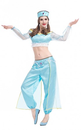Halloween Princess Jasmine Cosplay for Adult