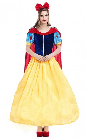 Halloween Snow White Long Dresses