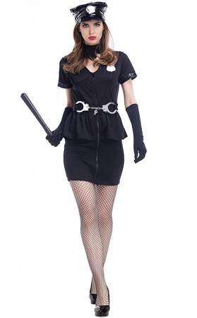 Halloween Sexy Sheriff Costume For Women