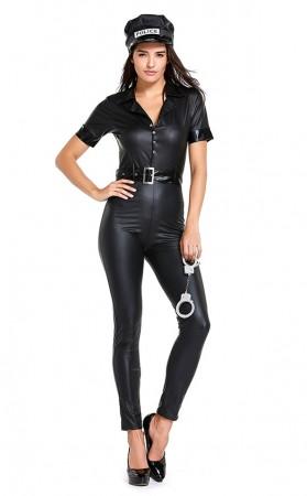 Ultra Sexy Policewoman Jumpsuits Uniform