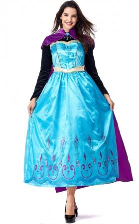 Halloween Anime Princess Aisha Ice Queen Costume
