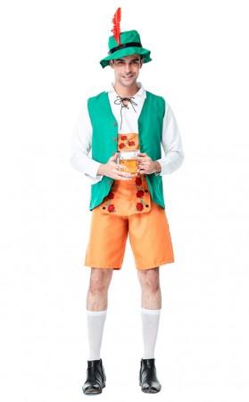 German Beer Oktoberfest Barman Costume