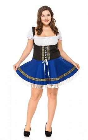 Halloween Wench Oktoberfest Swedish German Beer Girl Sexy Fancy Dress