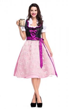 Womens Dress Oktoberfest Fraulein Costume