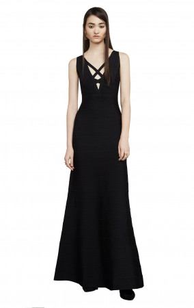 Herve Leger Sianna Essential Bandage Gown