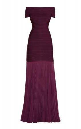 Herve Leger Breanna Signature Essentials Dress