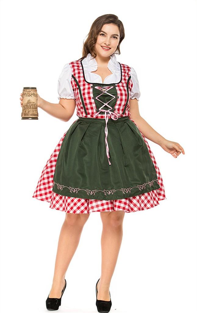 Oktoberfest Fraulein Adult Plus Size Costume - Rubies