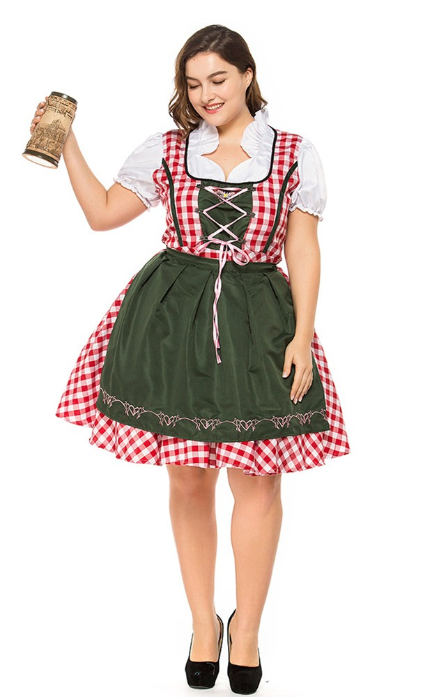 Plus Size Oktoberfest Sweetie Costume Perth   Hurly Burly