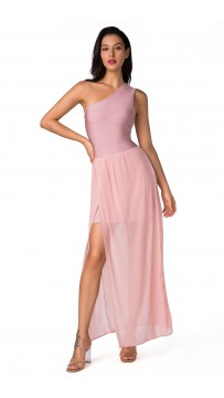 Herve Leger Sexy Red Carpet Bandage Maxi Dresses Pink Ankle Length