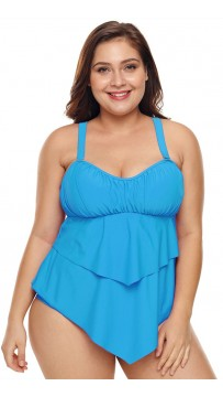 Women's Plus Size Two-Piece Swimsuit