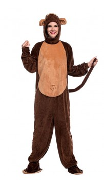 Halloween Party Cute Monkey Cosplay Costume