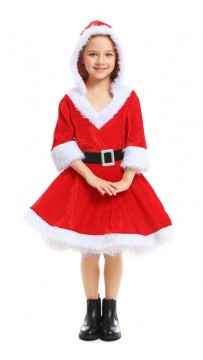 Christmas Red Santa Child Dress