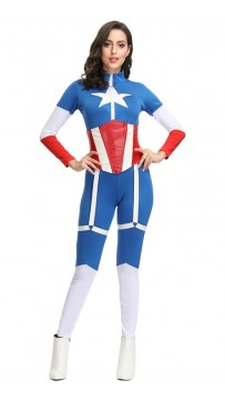 Marvel Movie Captain America Superman Costume