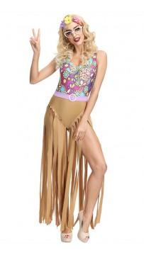 Halloween American Latino Hip Hop Mini Disco Costumes