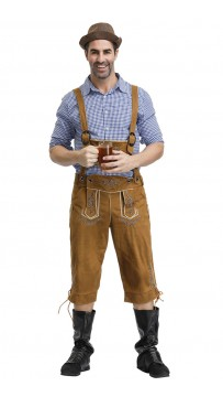 Halloween Deluxe Bavarian Guy Adult Costume